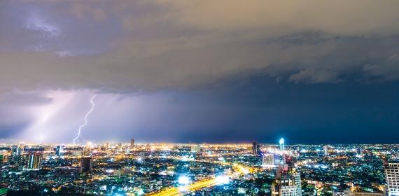 Como agir em situações de chuvas, enchentes e tempestades